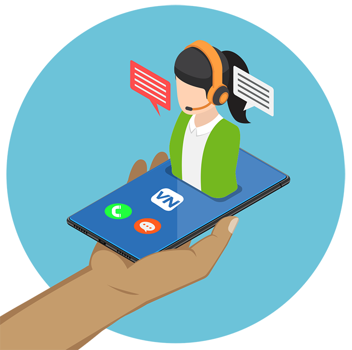We answer your calls your way. With custom scripting, our operators are an extension of you
