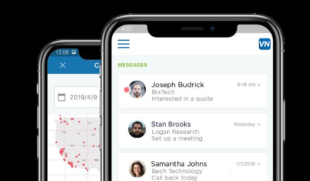 VoiceNation Mobile app